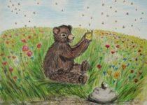 Eva-Maria Friedrichowitz: Wie kommt der Honig in den Topf? - Kinderbuch 5
