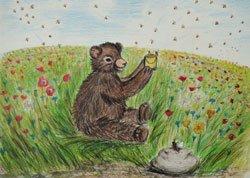 Eva-Maria Friedrichowitz: Wie kommt der Honig in den Topf? - Kinderbuch 4