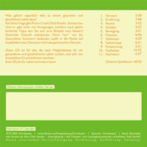 Dirk Kessler: Lebensprävention (Audio CD) - Möglichkeiten für ein gesünderes und glückliches Leben 5