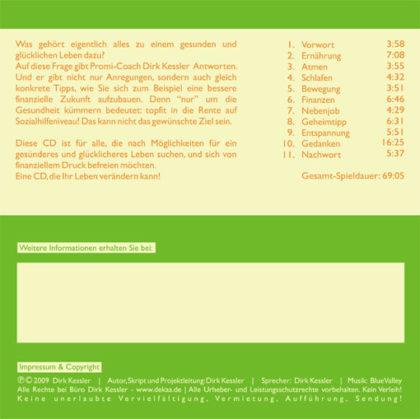 Dirk Kessler: Lebensprävention (Audio CD) - Möglichkeiten für ein gesünderes und glückliches Leben 4