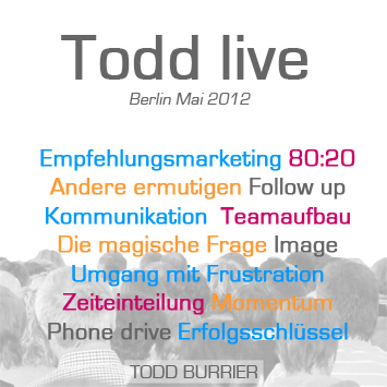 Todd live - Berlin Mai 2012 (Audio-CD) 3