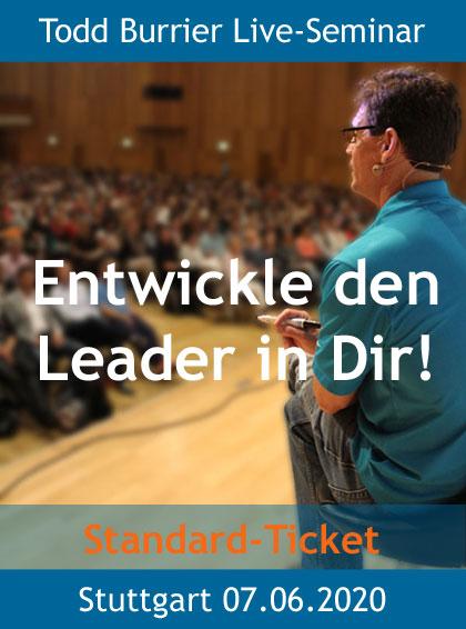 Todd Burrier live Seminar 07.Juni 2020 in Stuttgart - Standard Ticket 3