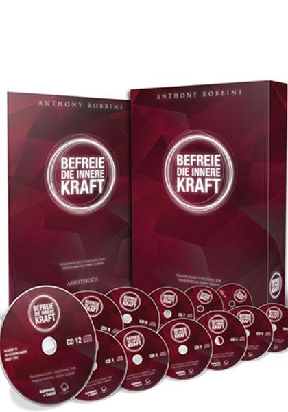 Tony Robbins: Befreie die innere Kraft Programm - 12 Audio CDs & Arbeitsbuch 2