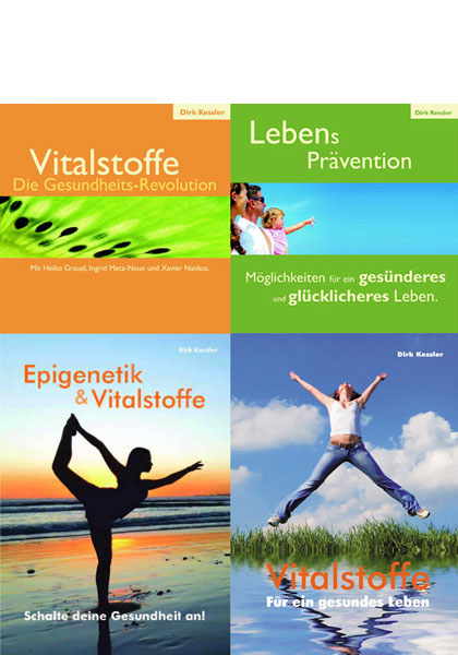 Dirk Kessler Paket - 2 Broschüren + 2 Audio CDs - Epigenetik, Vitalstoffe, Lebensprävention 2