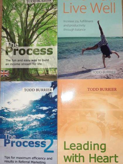Todd Burrier: 4 English books bundle 2