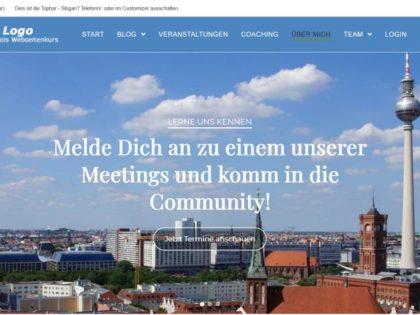 Addon zum Webseitenkurs: Installation einer fertigen Wordpressvorlage, inkl. Extra-Anleitung und DSGVO-Texte 2